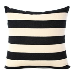 H.STRIPE BLACK CUSHION