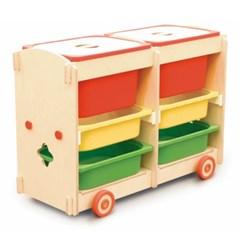 튜즐 장난감정리대 3X2 박스