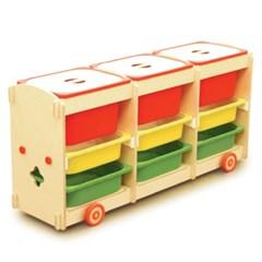 튜즐 장난감정리대 3X3 박스