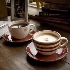 더카페 아메리카노 커피잔2인조세트