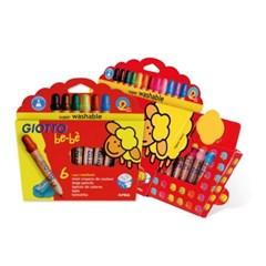 지오토 베베-나무색연필(Bebe색연필)-6색