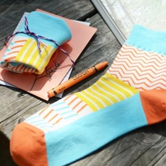 openroom socks 15-summer orange