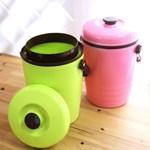 상크미컬러 음식물 쓰레기통 (비닐봉투용)3L