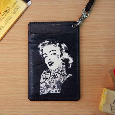 (new) Vintage card case (Marilyn Monroe)