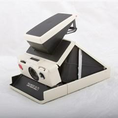 Polaroid SX-70 model2 Black (Reskin)
