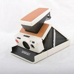 Polaroid SX-70 model2 Brown (Reskin)