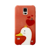 [EPICASE] Art case for GalaxyS5, White duck