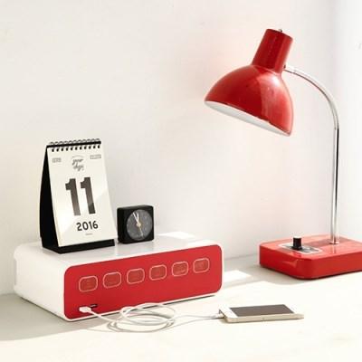 박스탭(boxtap) 전선정리형 디자인 멀티탭 USB충전형