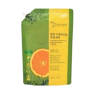 [에코띠끄] 천연 오렌지 오일 친환경 주방세제 리필 1000ml