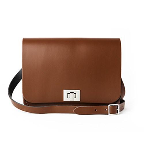 Chestnut Brown Medium Pixie Bag