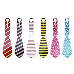 [타이택/Tie Tag] 넥타이 모양의 여행가방 네임택-패턴시리즈