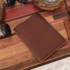 스키니 가죽 파우치 / ipad mini skinny pouch V [Burnt Oak]