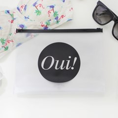 Clear Travel Pouch - Oui