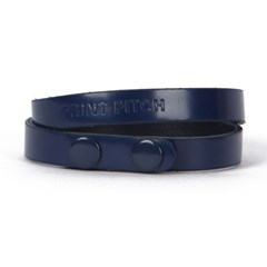 color bracelet (double) navy