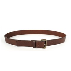 CLASSIC LEATHER BELT_DARK BROWN