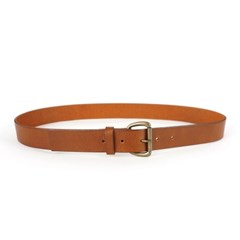 CLASSIC LEATHER BELT_BROWN