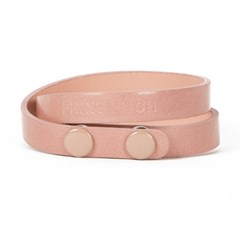 color bracelet (double) pink
