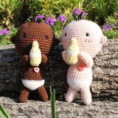 [곰의 작은집] 아기인형 카카 & 코코 DIY 인형 만들기