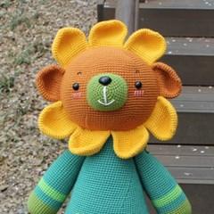 [곰의 작은집] 바라기곰(해바라기베어) DIY 인형 만들기