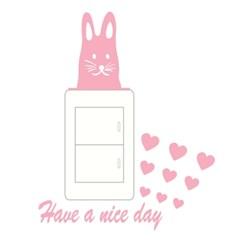 스위치스티커-nice rabbit