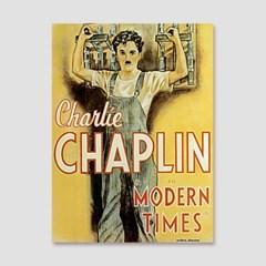 CAS328-빈티지포스터-찰리 채플린-모던 타임즈