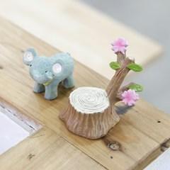 벚꽃나무 레진 오너먼트 트레이-소형