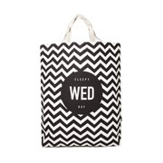 WHITE BLANK WEDNESDAY SHOULDER BAG