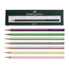 파버 카스텔 스파클 연필 1타스-12자루(7가지컬러선택)(178386)