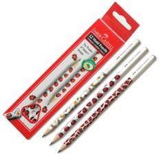 파버 카스텔 모티브 연필(B) 1타스-12자루_(178385)