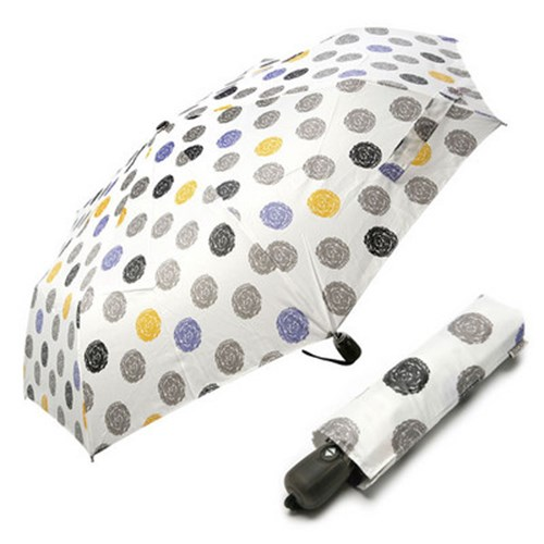 [VOGUE] 보그 3단 자동 우산(양산겸용) - 크레용도트