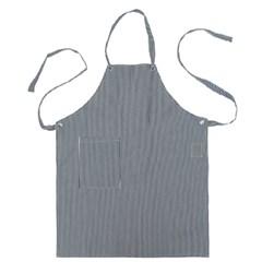 #AA1307 canvas apron (White)