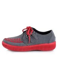 [T.U.K] A8487 Grey Suede Sneaker