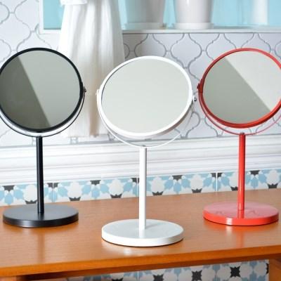오슬로 양면 탁상 거울(일반경+2배율확대경)