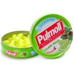 [독일] 펄몰캔디(pulmoll) : 라임맛(무설탕)