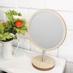 스칸디나비아 원형우드 거울 463