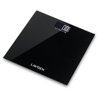 라비센(LAVISEN) 인버스백라이트 디지털 체중계 KS-109BK