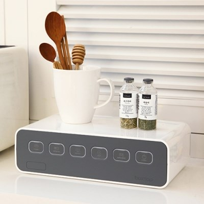 박스탭(boxtap) 전선정리형 디자인 멀티탭