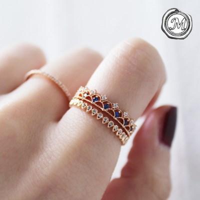 로즈 레이스 반지(2types) rose lace ring set