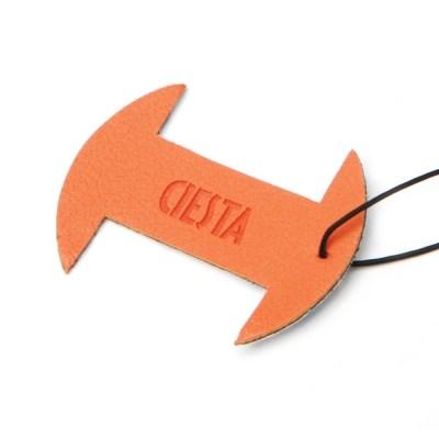 씨에스타 소니 40.5mm 전용 렌즈 캡 스킨 - 오렌지