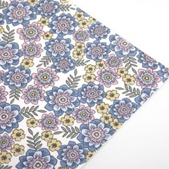 Fabric Sticker - 75 girl : flower for you