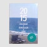 2015 CALEDAR X SCHEDULER X CARD
