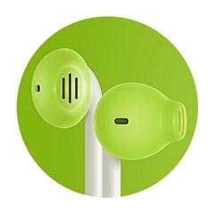 Earskinz 애플이어팟 이어스킨즈 ES2 _ Lime