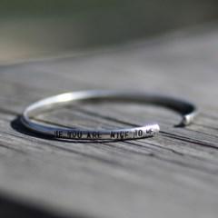 BS-024 철인글자팔찌(letter punch bracelet)