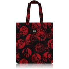 nother Red & Black Flat Tote Bag
