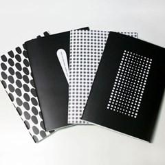 블랙 패턴 노트