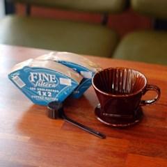 Rlovecoffee커피한콩 핸드드립(도자기드리퍼+필터200장)