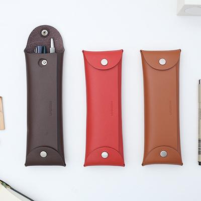 leather folding pocket