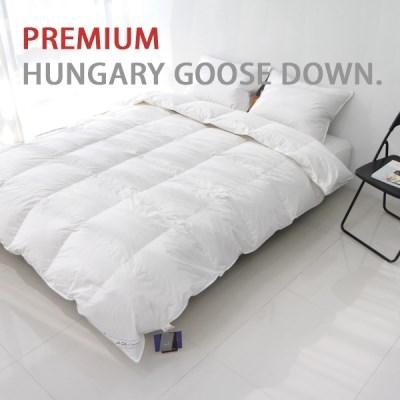 헝가리 구스 스노우 다운 S (700g) - 거위솜털 93% 이상