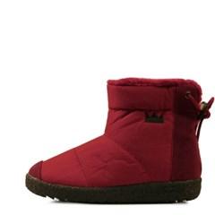 Ankle string pedding fur boots_KM14w229
