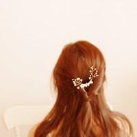 [하우즈쉬나우] lily pearl comb type (릴리 펄 빗핀)